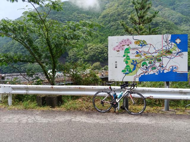 宮川ダムに到着